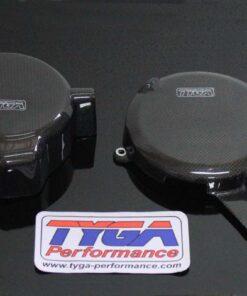 Carbon engine covers (pair) 2014- '15, KTM Duke - RC390-0