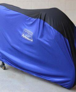 TYGA bike dust cover two tone blue/black RACE , universal -0