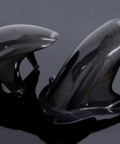 Carbon set hugger w chainguard, Suzuki RGV 250-0